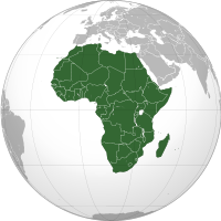 Africa: Look up or calculate current time and date, time zones and time difference of the following countries