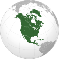 North America: Look up or calculate current time and date, time zones and time difference of the following countries