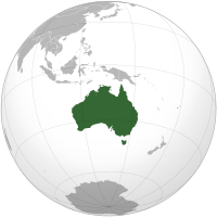 Australia/Oceania: Look up or calculate current time and date, time zones and time difference of the following countries
