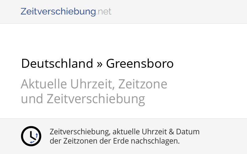 Usa Deutschland Zeitverschiebung