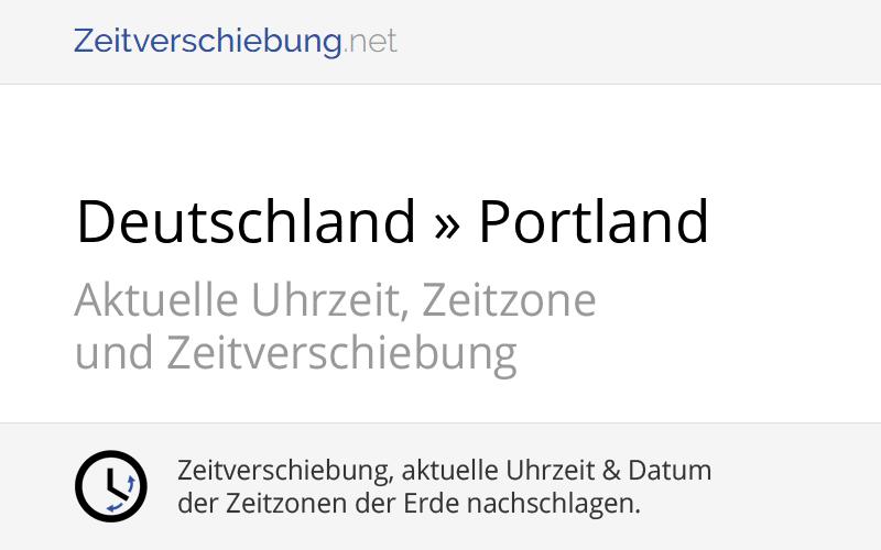 Zeitverschiebung Deutschland Amerika
