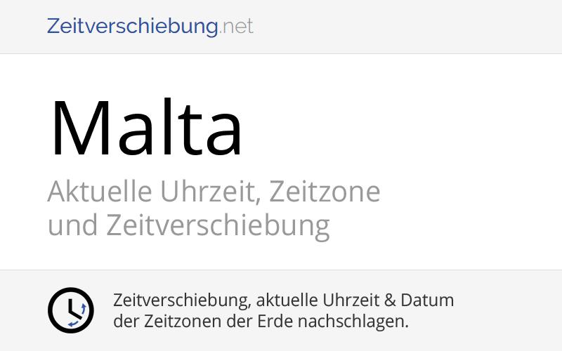 Malta Zeitzone