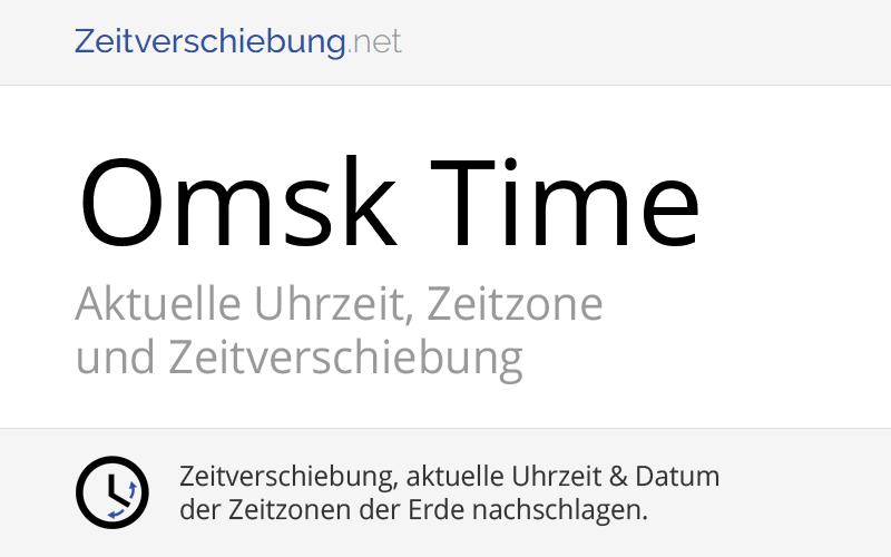 Omsk Time