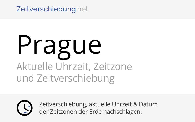 Prag Zeitzone