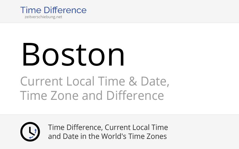Local Time In Boston