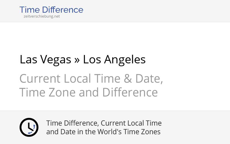 Las Vegas Zeitverschiebung
