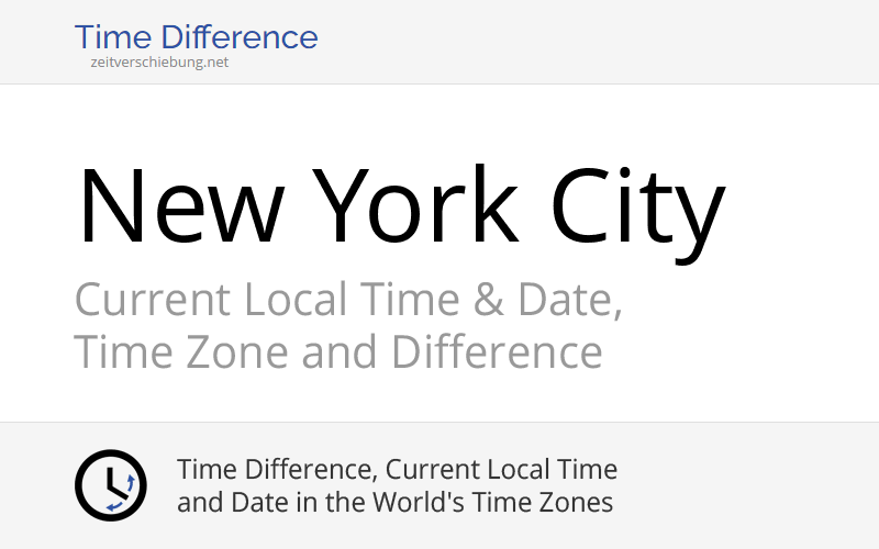 Nyc Local Time