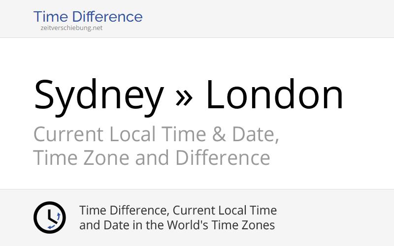 time difference sydney prague - photo#2