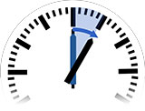 Time Change in Zahedan to Daylight Saving Time from 12:00 am to 1:00 am