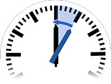Time Change in Camagüey to Standard Time from 1:00 am to 12:00 am