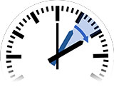 Time Change in North Ferriby to Daylight Saving Time from 1:00 am to 2:00 am
