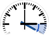 Time Change in Filiatrá to Daylight Saving Time from 3:00 am to 4:00 am