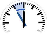 Zeitumstellung auf Sommerzeit bzw. Daylight Saving Time von 23:00 Uhr auf 0:00 Uhr